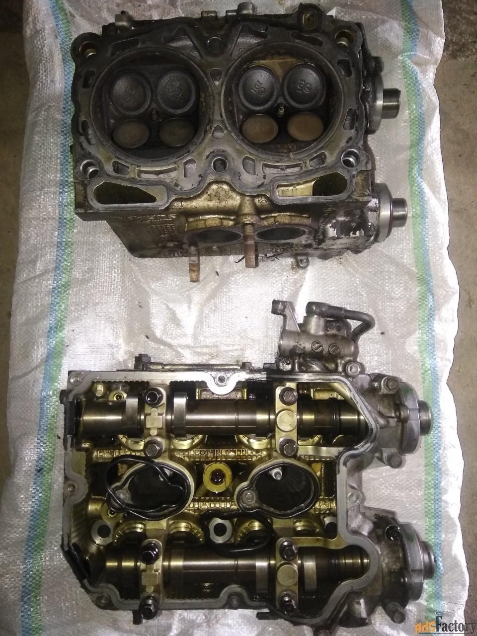 моторный блок subaru forester 2007