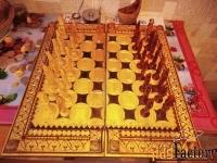 нарды и шахматы в одной доске ручная работа