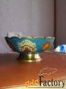 Расписная тарелка в восточном стиле