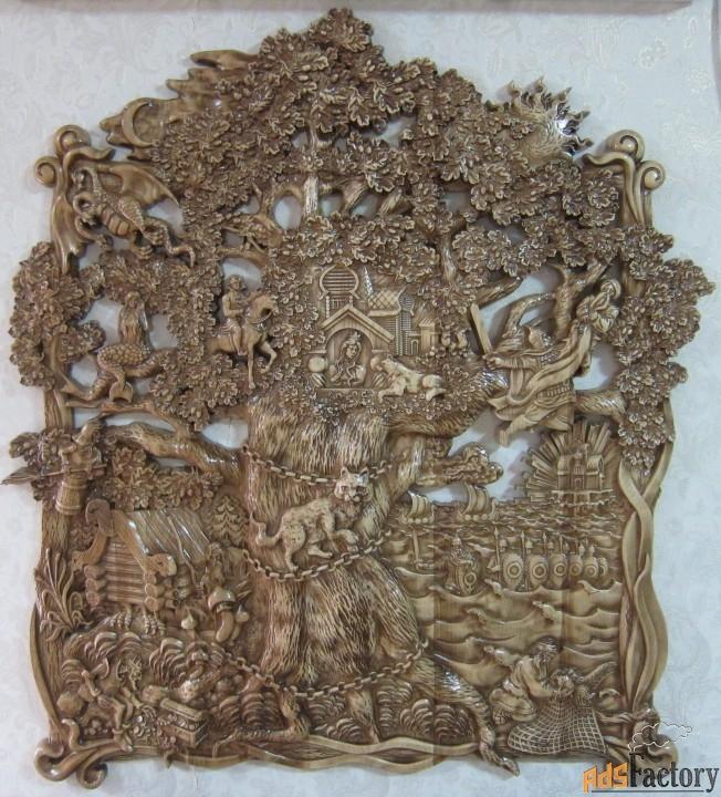 картина «у лукоморья»
