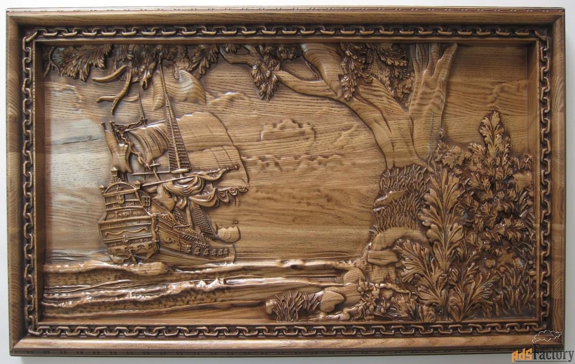 картина «корабль»