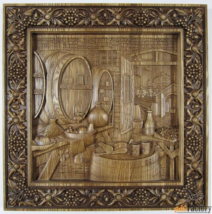 картина «винный погреб»