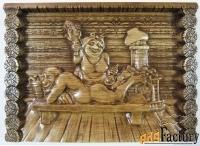 картина «дед и бабка в бане»