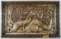 картина «женщина с кошкой»