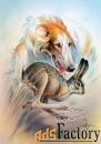 картина «охота на зайца»