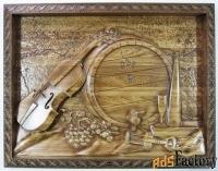 картина «скрипка»