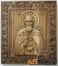 икона «пресвятой сергий радонежский» 360х290
