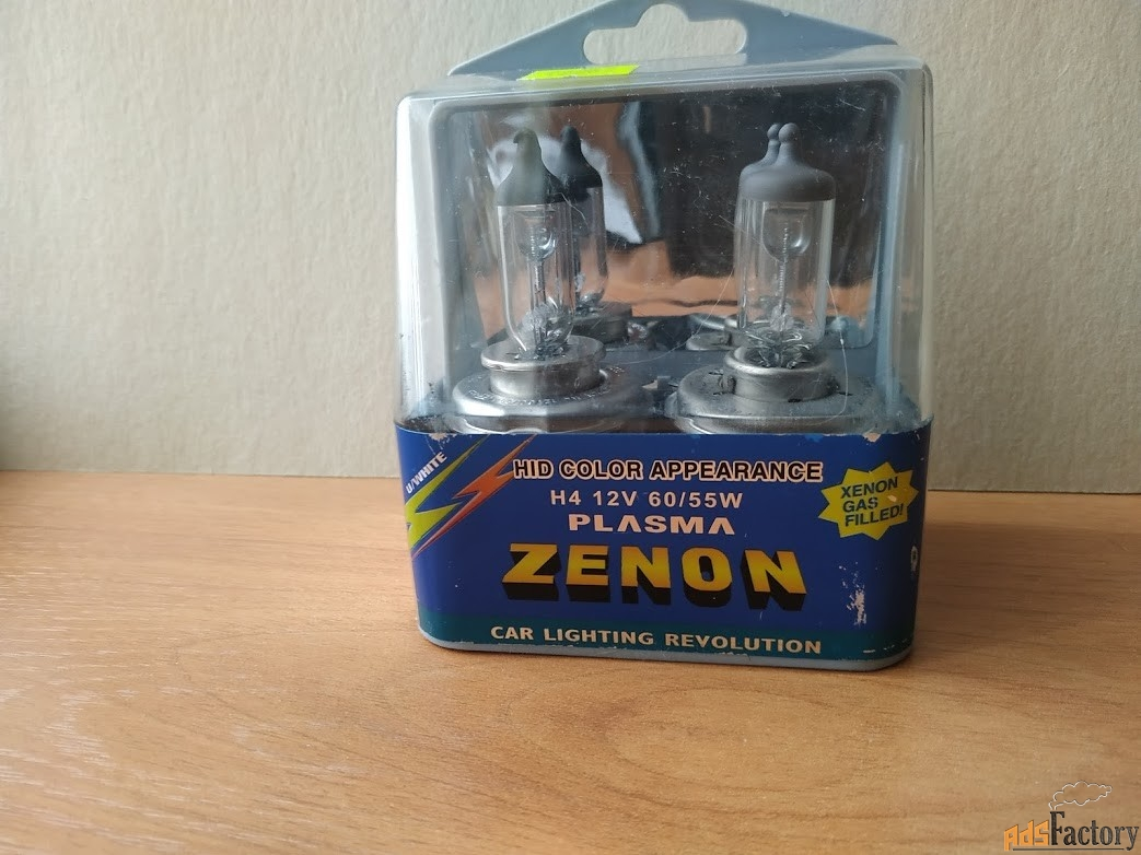 Лампа автомобильная  Plasma ZENON (2 шт.)