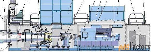 Испытательный стенд для газотурбинных двигателей и газовых турбин