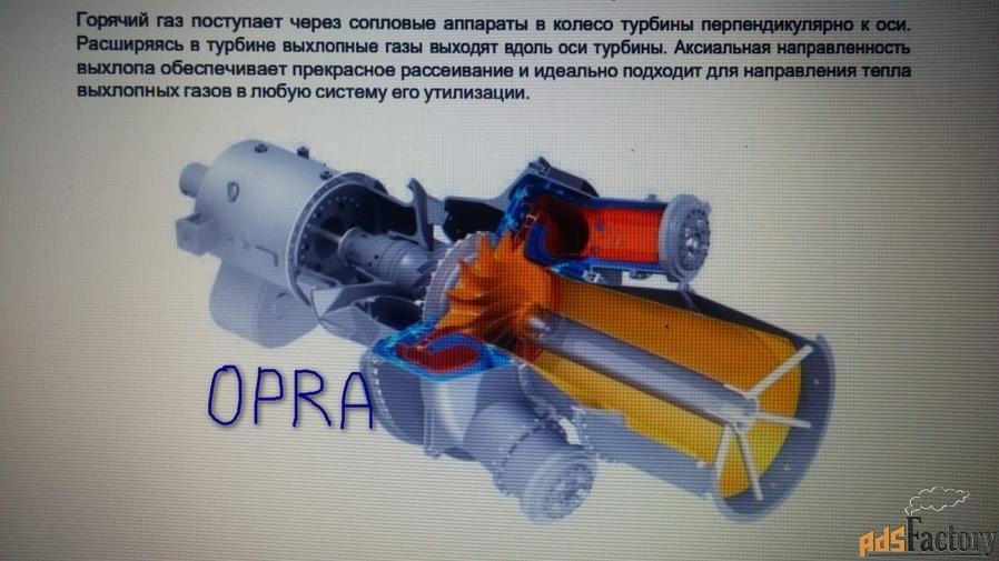 Газовые турбины OPRA ОР16-ЗА без наработки с хранения