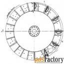 Ротор мельницы-вентилятора типа МВ для ТЭЦ
