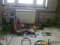 газосварка.замена батарей,радиаторов отопления,труб.