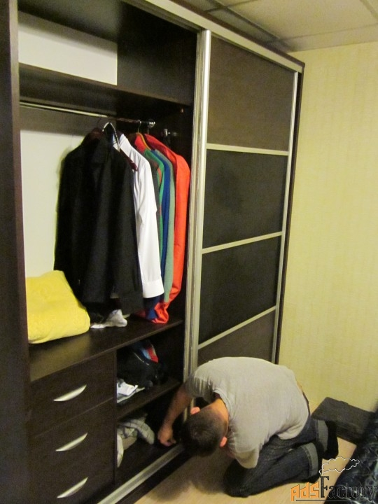 изготовление шкафов, шкафов-купе, кухонь, прихожих на заказ