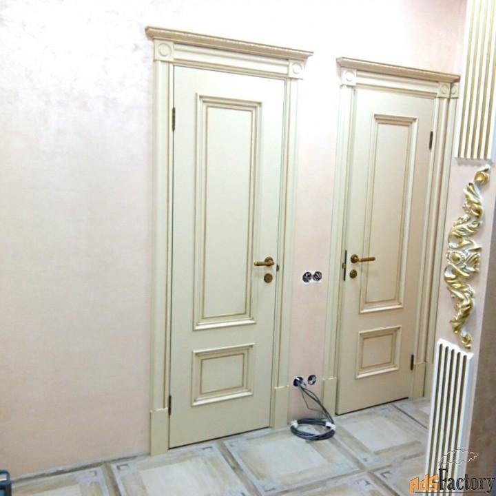 установка дверей (входных и межкомнатных)