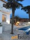 вилла для отдыха на морском курорте анцио в италии