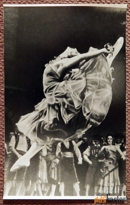 фото. майя плисецкая. балет дон кихот
