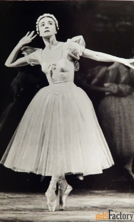 фото. г. уланова. балет шопениана