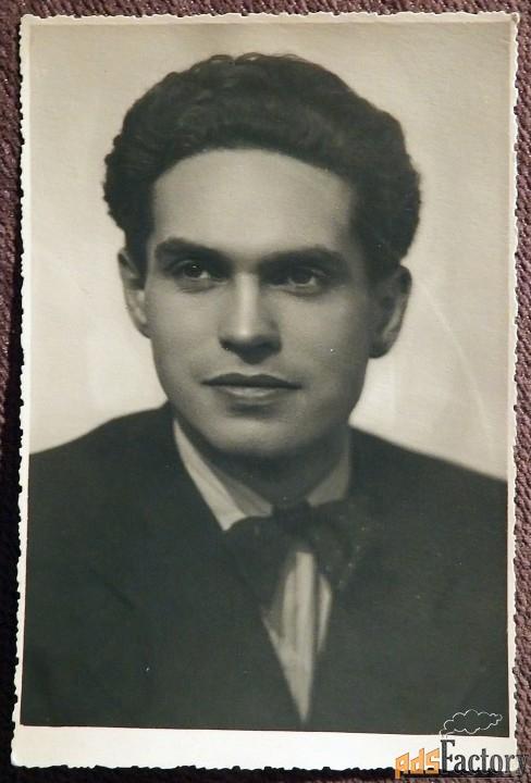 Фото. К.М. Сергеев. Штамп Кировского театра. 1950-е годы