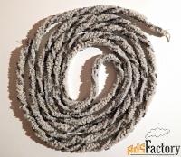 антикварный пояс. вышивка бисером и стеклярусом