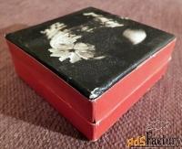 коробка для ювелирных украшений или для бижутерии. ссср