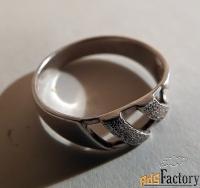 кольцо. серебро. ссср