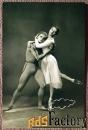 открытка. к. федичева и ю. соловьев. балет далекая планета. 1964 год
