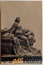 антикварная открытка рим. монумент гете