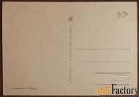 открытка. худ. тюрин. 1966 год