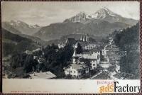 антикварная открытка берхтесгаден (германия)