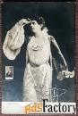 антикварная открытка м. фигнер (?)