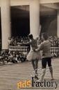 фото. н. павлова и ю. петухов. смотр хореографического училища. 1972 г
