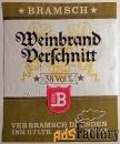 этикетка. бренди. германия. 1969 год