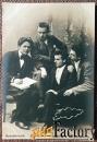 антикварная открытка алякринский, двинский, борин и державин (театр)