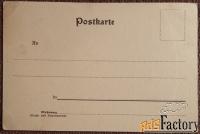 антикварная открытка земмеринг. вид на ж/дорожный виадук. австрия