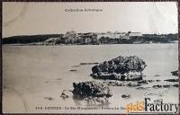 антикварная открытка канны. остров св. маргариты. франция