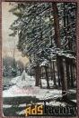 Антикварная открытка Сердечные новогодние поздравления (Германия)