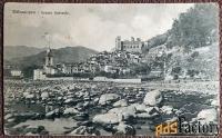 Антикварная открытка Дольчеаккуа. Общий вид (Италия)