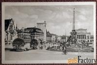 Антикварная открытка Лейпциг. Площадь Карла Маркса (Германия)