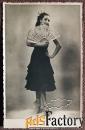Фото. И.Б. Зубовская (Израилева). Балет «Дон Кихот». 1950-е годы