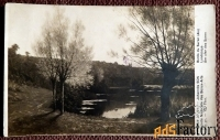 Антикварная открытка. Дж. Сон На берегу Сурана