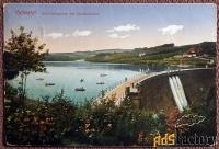 Антикварная открытка На реке Волме, близ Дальербрюка (Германия)