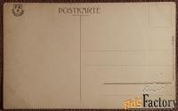 Антикварная открытка Германия. Холм Саксонская Швейцария