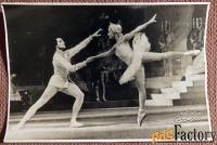 Фото М. Плисецкая и Н. Фадеев. Балет Спящая красавица. 1964 год