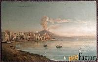 Антикварная открытка Город Торе-дель-Греко (Италия)