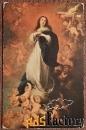 Антикварная открытка Непорочное зачатие Пресвятой Девы