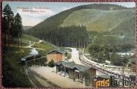 «Железная дорога (узкоколейка) Гарц-Брюкенбан» Швейцария