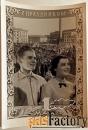 Открытка Ленфотохудожник. 1954 год