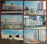 Набор открыток Новосибирск. 1971 год