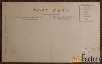 Антикварная открытка «Церковь Всех Святых. Ноттингем» Англия