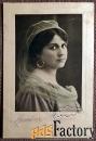 Антикварная открытка Мария Лабла (певица)